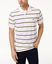 Lacoste Men's Striped Polo