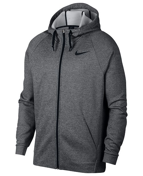 09f878b4e4ab Nike Men s Therma Training Full Zip Hoodie   Reviews - Hoodies ...