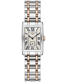 Women's Swiss DolceVita 18K Gold & Stainless Steel Bracelet Watch 20.5mmx32mm