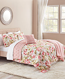 Ashley 5-Pc. Reversible Full/Queen Quilt Set