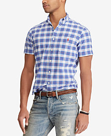 Polo Ralph Lauren Men's Classic Fit Plaid Shirt
