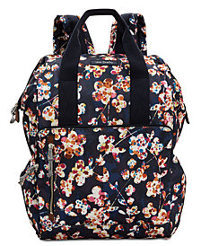 Vera Bradley Lighten Up Frame Large Backpack