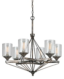 6-Light Cresco Chandelier