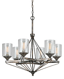 Cal Lighting 6-Light Cresco Chandelier