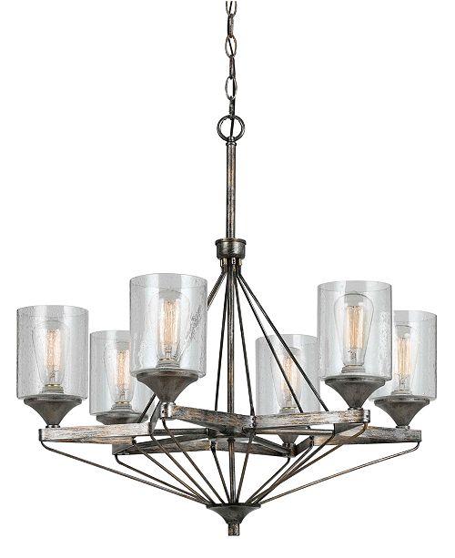 Cal Lighting 6-Light Cresco Chandelier