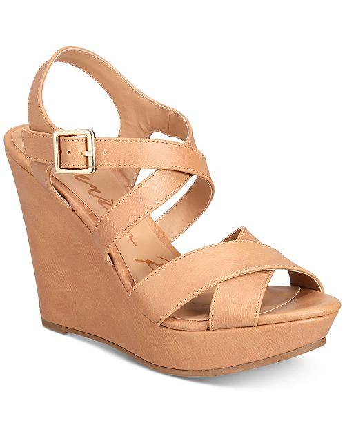 0d0de614ad39 American Rag Rachey Platform Wedge Sandals