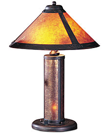 Cal Lighting 40W Mica Accent Lamp with Night Light
