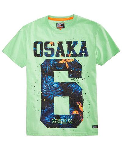 Superdry Men's Osaka Hibiscus T-Shirt