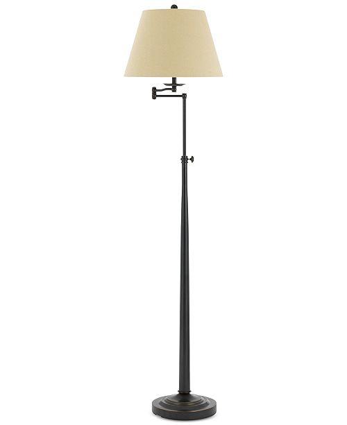 Madison Adjule Swing Arm Floor Lamp
