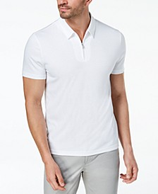 Men's Ottoman Zip Polo, Created for Macy's