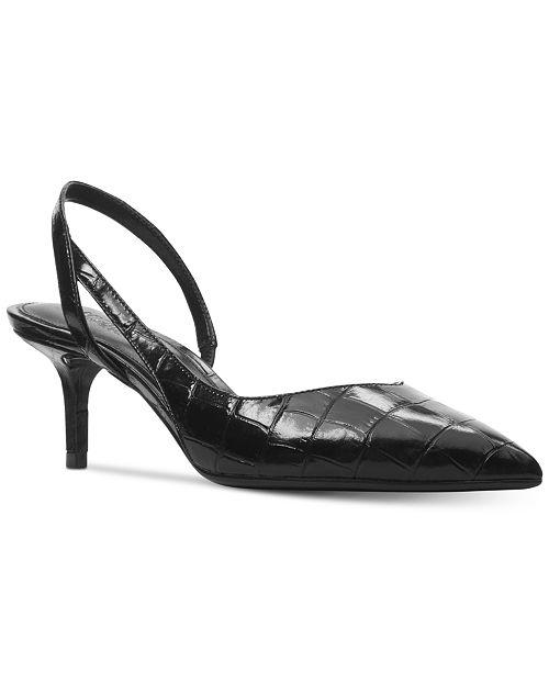 60c36aa6cc0 Michael Kors Eliza Flex Kitten-Heel Pumps   Reviews - Pumps - Shoes ...