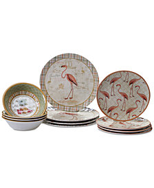 Certified International Floridian 12-Pc. Dinnerware Set, Service for 4