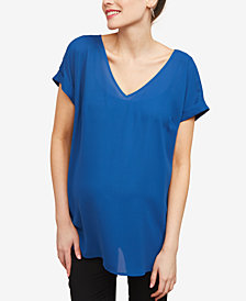 Motherhood Maternity V-Neck Top