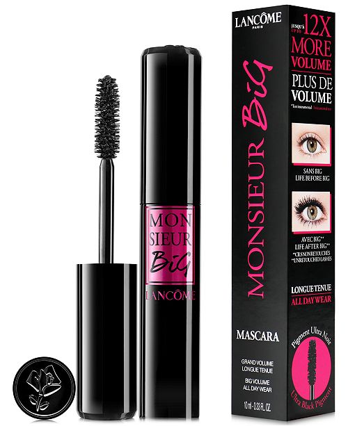 4115af996a4 Lancôme Monsieur Big Mascara, 0.33 oz & Reviews - Makeup - Beauty ...