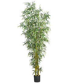 Nearly Natural 8' Fancy-Style Artificial Bamboo Tree
