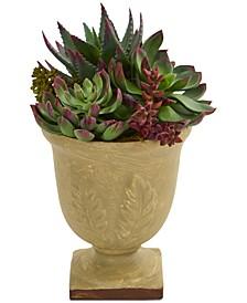 """12"""" Mixed Artificial Succulent Artificial Plant"""