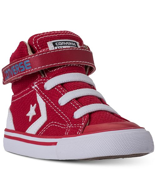 e7ce7bf19edb ... Converse Toddler Boys  Pro Blaze Strap Casual Sneakers from Finish ...