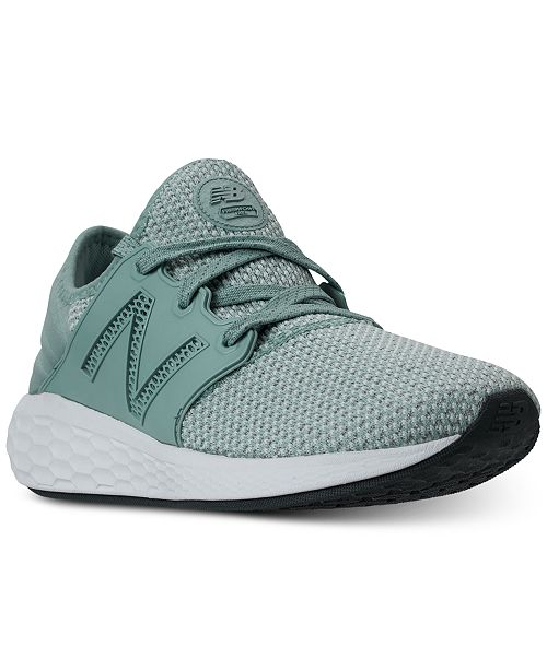 New Balance Women's Fresh Foam Cruz V2 Running Sneakers from Finish Line 3z8MvZf