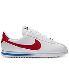 Nike Big Boys' Cortez Basic SL Casual Sneakers from Finish Line