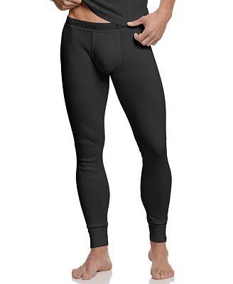Calvin Klein Men's Loungewear, Body Long John Pants U1706 ...
