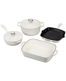 Le Creuset 6-Pc. Cast Iron Cookware Set
