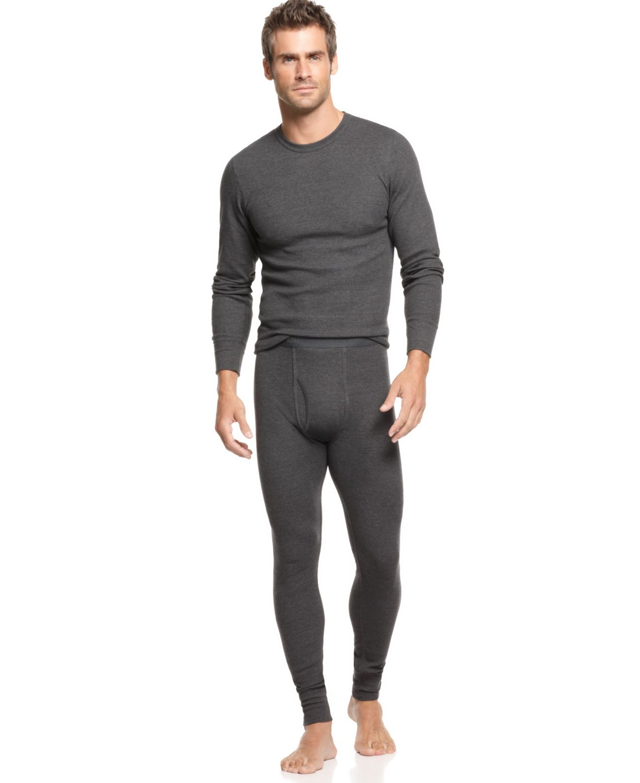 Alfani Thermal and Alfani Pants - Underwear & Undershirts - Men ...