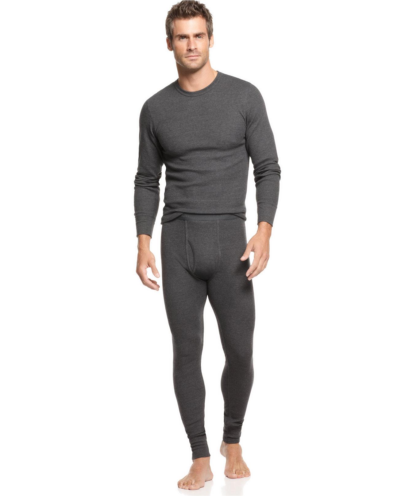 Alfani Thermal and Alfani Pants - Underwear & Undershirts - Men ...