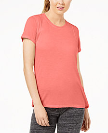 Calvin Klein Performance Epic Pleated-Back Top