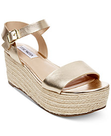 Steve Madden Women's Busy Espadrille Wedge Sandals