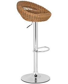 Golba Swivel Bar Stool, Quick Ship