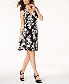 Thalia Sodi Embellished A-Line Dress, Created for Macy's