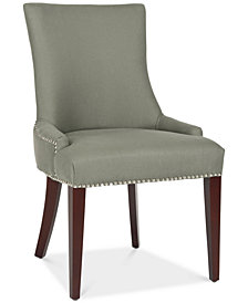 Cochise Leather Dining Chair, Quick Ship