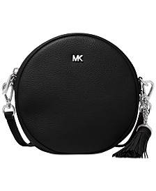 MICHAEL Michael Kors Pebble Leather Circle Canteen Crossbody