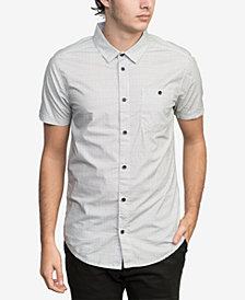 RVCA Men's Celebrator Printed Pocket Shirt