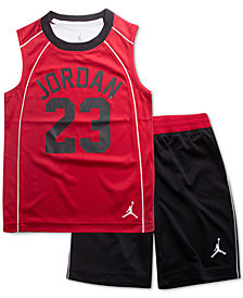Jordan Little Boys 2-Pc. AJ 23 Flight Musle Tank Top & Shorts Set