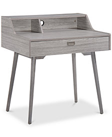 Lauren Mid Century Home Office Desk, Quick Ship