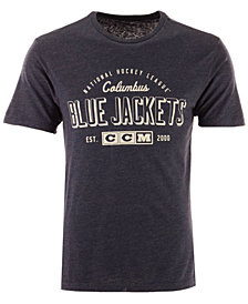CCM Men's Columbus Blue Jackets Speed Zone T-Shirt