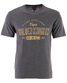 CCM Men's Vegas Golden Knights Speed Zone T-Shirt