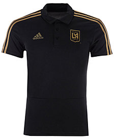 adidas Men's Los Angeles Football Club Coaches Polo