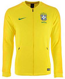 Nike Men's Brazil National Team Anthem Jacket
