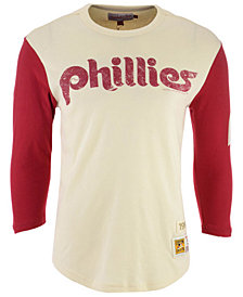 Mitchell & Ness Men's Philadelphia Phillies Wild Pitch Raglan T-Shirt