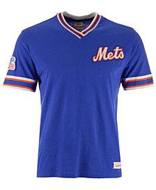 Mitchell & Ness Men's New York Mets Coop Overtime Vintage T-Shirt