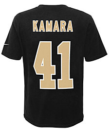 Nike Alvin Kamara New Orleans Saints Pride Player T-Shirt, Big Boys (8-20)