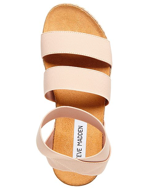 6a70540e6b8 Steve Madden Women s Kimmie Flatform Espadrille Sandals   Reviews ...
