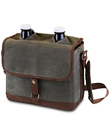 Legacy® by Picnic Time Insulated Double Growler Tote with 64-oz. Glass Growlers