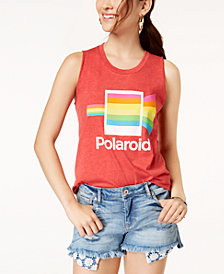 Mighty Fine Juniors' Polaroid Graphic Tank Top