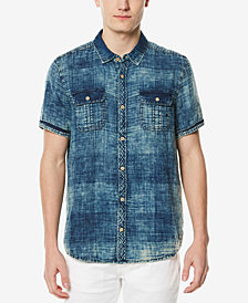 Buffalo David Bitton Men's Acid Wash Shirt
