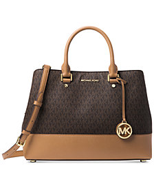 MICHAEL Michael Kors Signature Savannah Satchel