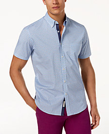 Con.Struct Men's Blue Crab Shirt, Created for Macy's