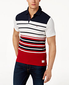 Tommy Hilfiger Men's Cameron Slim Fit Polo, Created for Macy's